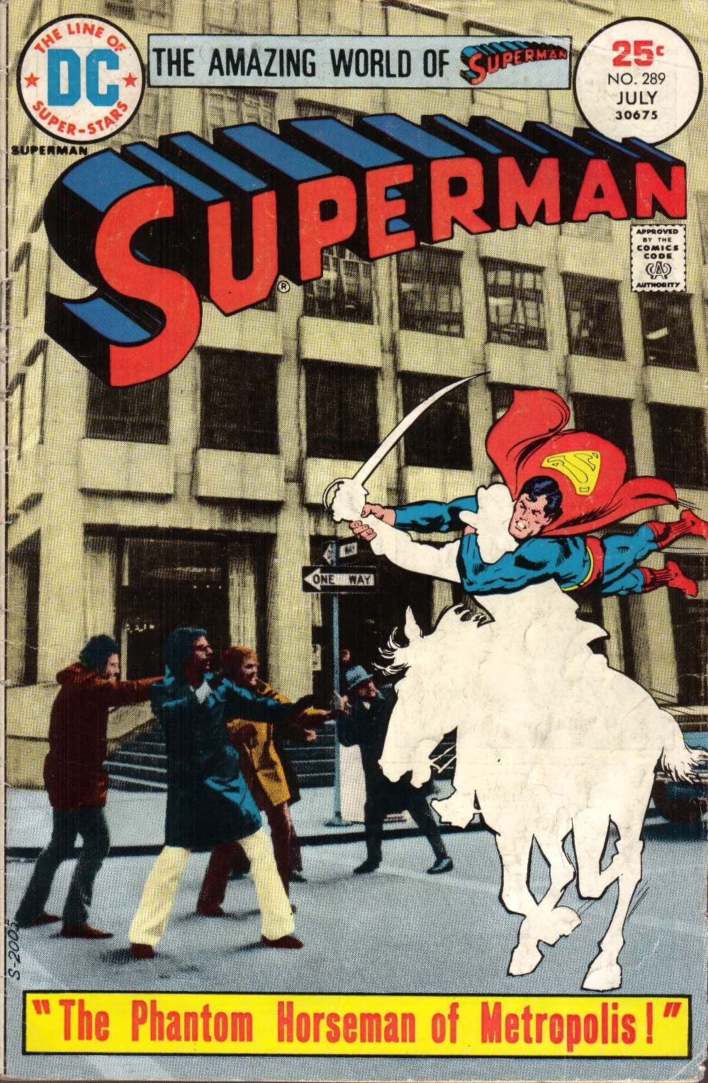 comicbookcovers:  Superman #289, July 1975