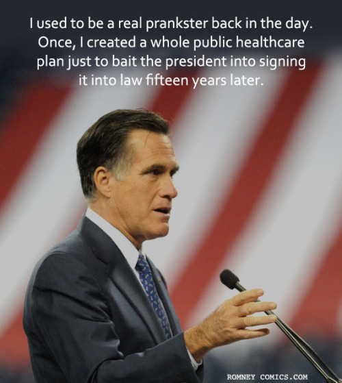 Great prank Mitt. I don't think you understand what your Republican toilet paper is saying, though.