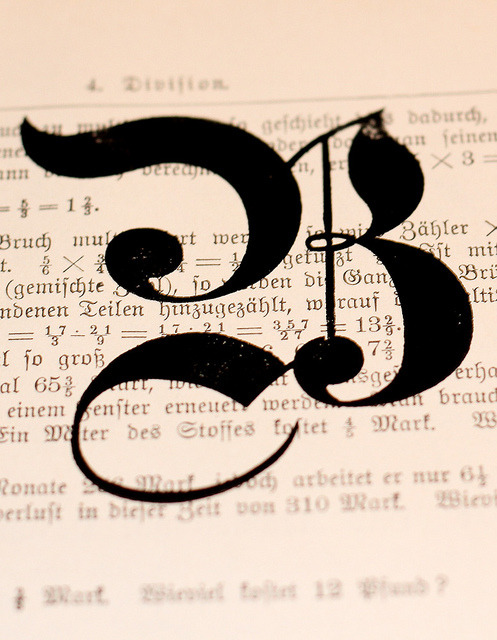 betype:  B Blackletter print by Ampersanden on Flickr.