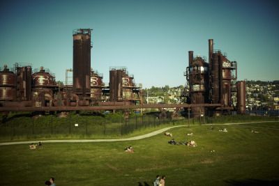 gas works park, seattle (by Winnie Au)