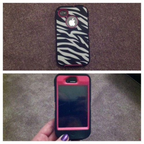 #picstitch my #new #case #zebraprint #animalprint #phone #awesome #iphoneonly #instamatic #instagramers #igers #nf #iphonesia #f4f #followforfollow #teamfollowback #iphone4 #teamiphone #pink #iphonecase #yesss  (Taken with instagram)