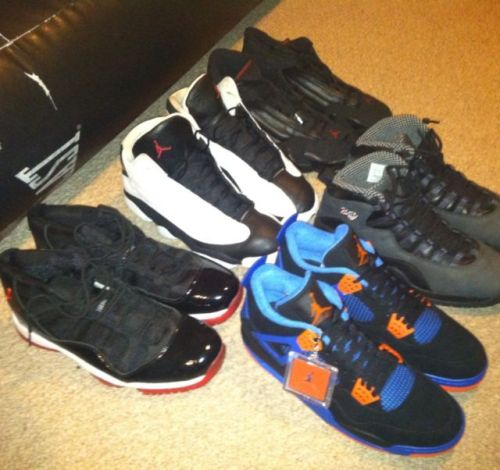 Hey, I'm selling some of my sneakers from my personal collection. I need the money to buy a plane ticket out to see my family this summer. I also have made a few videos so you know this isn't a scam or anything and also, so that you can see the condition on some of the shoes. Feel free to contact me with any offers of at least $100 in my ask or text me at 720/388/6931Here are some of the videos I made: http://lovenlustnlouse.tumblr.com/post/23205423429/hmu-for-an-offer-in-my-ask http://lovenlustnlouse.tumblr.com/post/23142716809/jordantwoforsale http://lovenlustnlouse.tumblr.com/post/23141783006/jordanoneforsaleAny of my followers, I'd really appreciate it if you would reblog this post for me… I really am desprite and need this money to see my fam in cail. I haven't seen them in over a year.