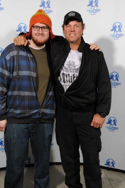 No big deal. Just a picture of me and the man they call Jayne Adam Baldwin.