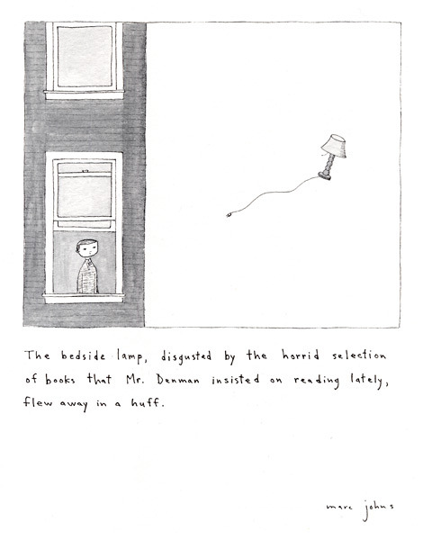 blua:  Illustration by Marc Johns