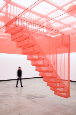"crematorie:  ""Staircase"" installation by Do-ho Suh (via)"