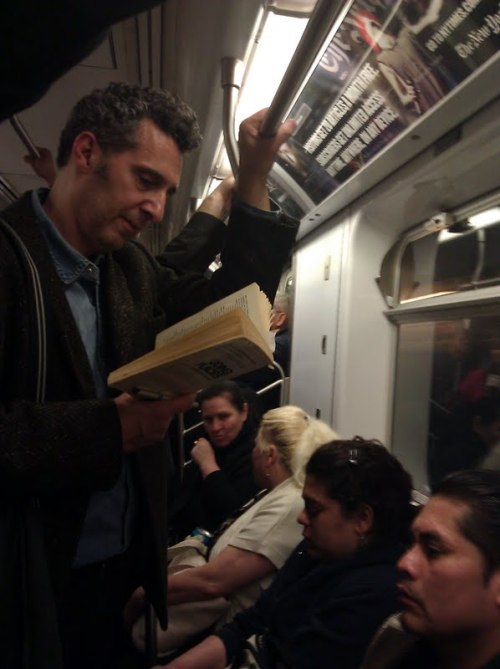 Jesus Quintana John Turturro on the subway, ladies and gentlemen.