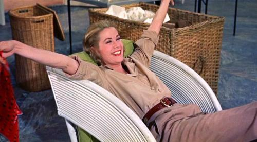 I have been reliving some old classics of late. Grace Kelly in High Society (1956) is stunning.