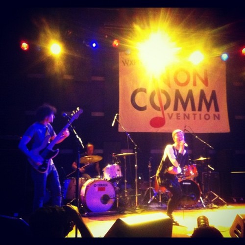 @thisispolica at @worldcafelive @wxpn #noncomm (Taken with instagram)