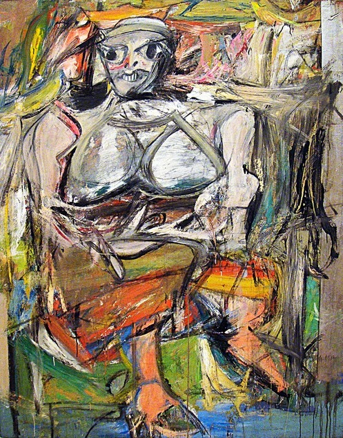 Willem de Kooning, Woman I, 1950-52.