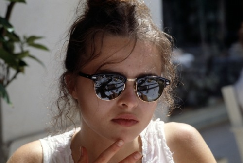 suicideblonde:  Helena Bonham Carter at the 1989 Cannes Film Festival