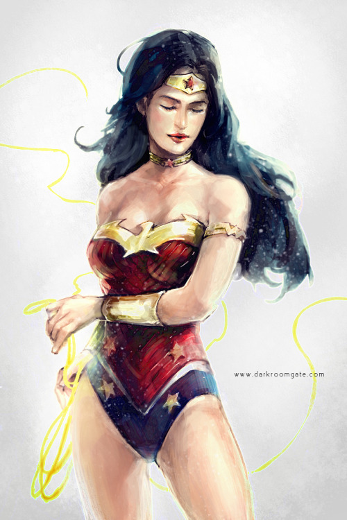 incompleting:  Wonder Woman by ~a1040280  -