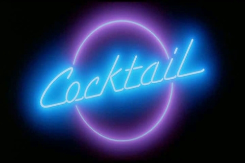 Cocktail (dir.: Roger Donaldson, 1988) by behindthescreen