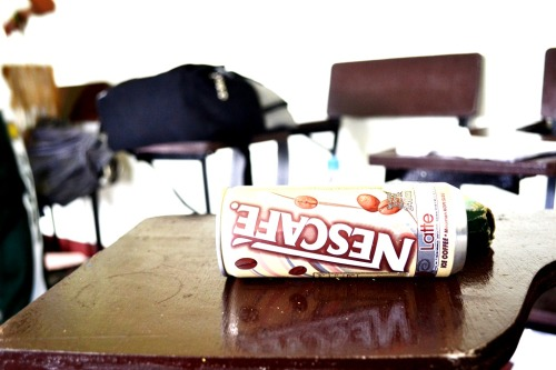 Back-to-school na ba, guys? Stay energized with Ready-to-drink NESCAFE Latte! :) COFFEE Thirstdays Today we are featuring this cool photo artwork from RAY (rayspeaksnow)! :)