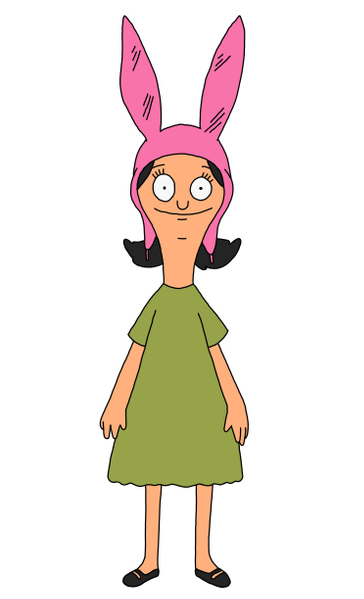 "louise. bob's burgers greatest television character. ever.  ""YOU SMELL LIKE OINTMENT AND PEE""! i highly recommend this episode."