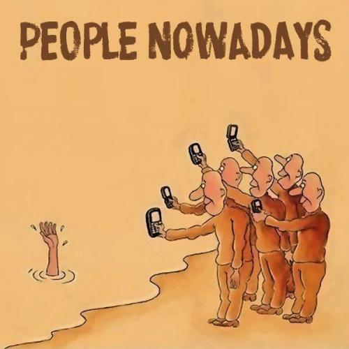 People these days..:P