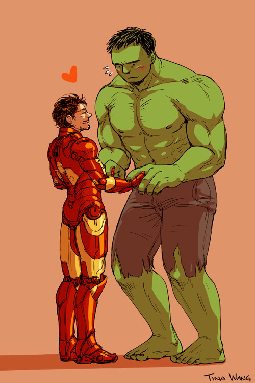 This is pretty much my favorite pairing from the Avengers. Well, Tony/Bruce too, but yeah, THEY'RE SO CUTE I CAN'T HANDLE IT!!!