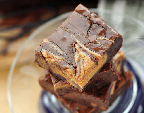 Caramel Peanut Butter Brownies