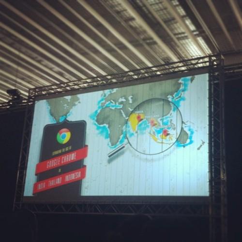 @claudioguglieri I love your pixels!!!! #offfbcn #FI (Taken with Instagram at DHUB Glòries)