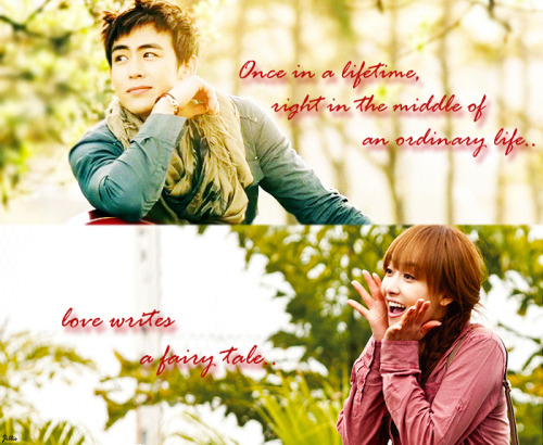 [FANART] KhunToria's fairy tale ♥Once in a lifetime, right in the middle of an ordinary life.. love writes a fairy tale..cr: qiansung-Jillie