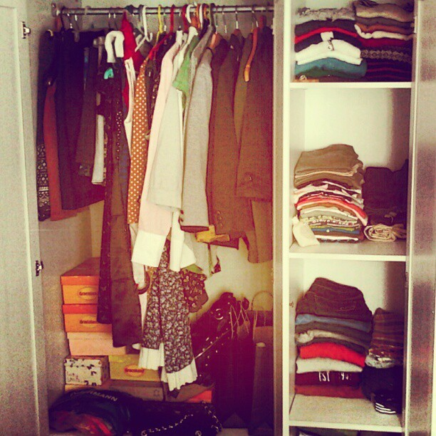 Closet (Taken with instagram)