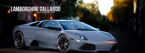 Lamborghini Gallardo Facebook Covers