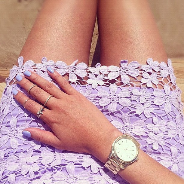 @garypeppergirl wears Sabo Skirt Lyla Skirt in lilac.. Amazing photo Nicole! 💜 #saboskirt  (Taken with instagram)