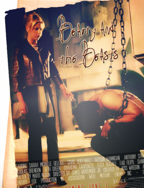 aprilxmayy:  buffy movie posters » season 3; beauty and the beasts