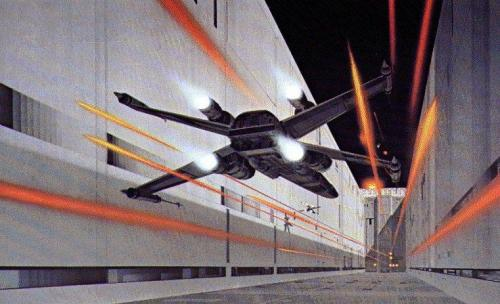 retrostarwars:  Into the Trenches by Ralph McQuarrie