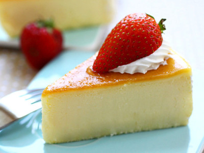 Custard Cheesecake