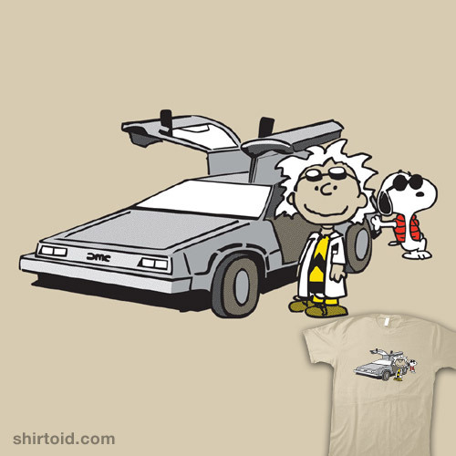 shirtoid:  Doc Brown by g_crows is $10 today only (5/18) at RIPT Apparel