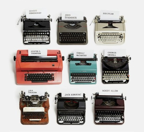 "booklikes:  Typewriters - magic at your fingertips ""I don't even know what a computer is. I've heard about them a lot, but I don't own one, and I don't want one to own me. Typewriters you can own. I think a computer owns you."" That's how Manson H. Whitlock answered the question why he prefers typewriters to computers. Are contemporary writers doomed to forget about this classical writing tool? Maybe not. Not so long ago, in mid 90s, a young (now very successful) writer decided to finish her manuscript on an old manual typewriter. The book became a world acclaimed bestseller and the author one of most admired writers. Can you guess who that was? So maybe it's true that typewriter possess some kind of magical power?  P.S. Answer the question and win a guest post at BookLikes :) Send answers to kate@booklikes.com with Subject: Typewriter Quiz Good Luck!"