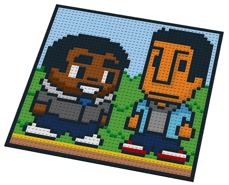 cakeinmilk:  Troy and Abed made of LEGO