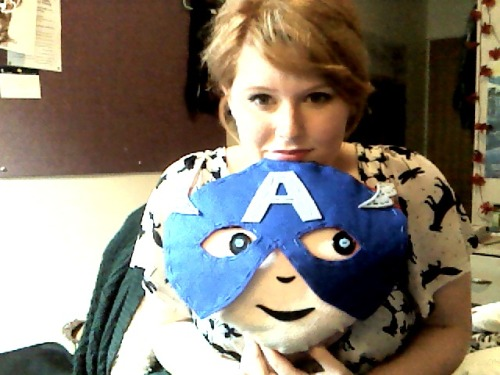 just chillin' with cap :)
