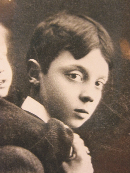 Buster Keaton, child model