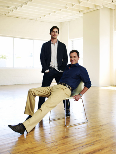 05 Favorite Co-Stars 4) Matt Bomer & Tom DeKay These two are so freakin' cute together when they are joking around off set and on. Also I've never heard them say the most wonderful things about each other. I think that this wonderful off set relationship helps to craft a wonderful chemistry that makes their characters that much more wonderful.