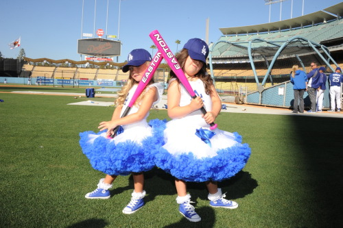 One, tutu, three strikes you're out at the ol' ball game!