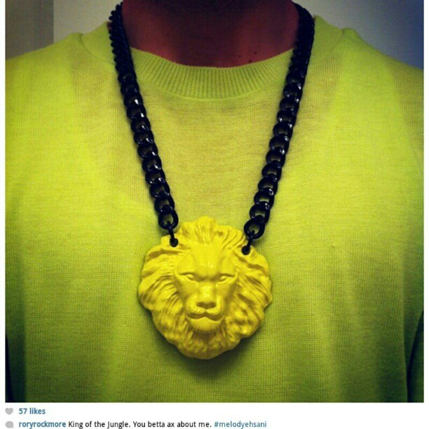 #melodyehsani #jewelry #neckparty pic of @roryrockmore  (Taken with instagram)