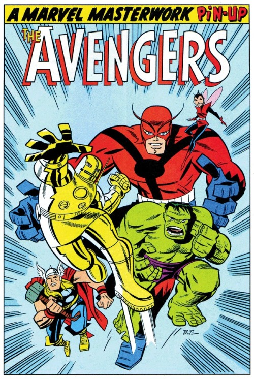 The Avengers by Bruce Timm!