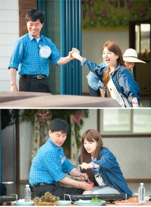 Suzy with her Father in Invincible Youth 2