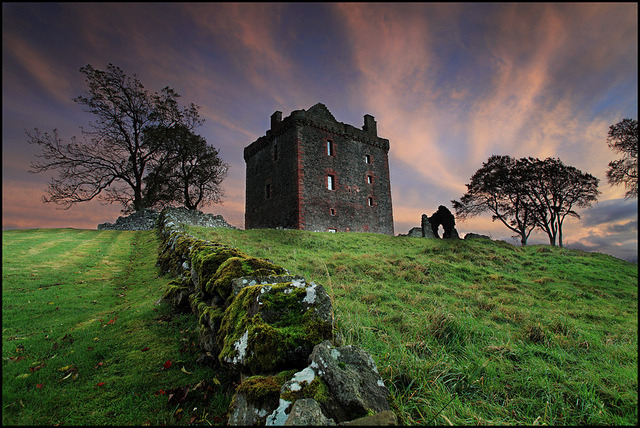 Balvaird Castle by angus clyne on Flickr.