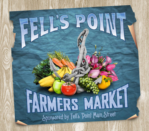 baltiamore:  Fell's Point Farmers Market is back! Every Saturday morning until September.