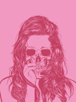 """Skull Girl 1"" Gerrel Saunders  (Trinidad and Tobago) via Curioos"
