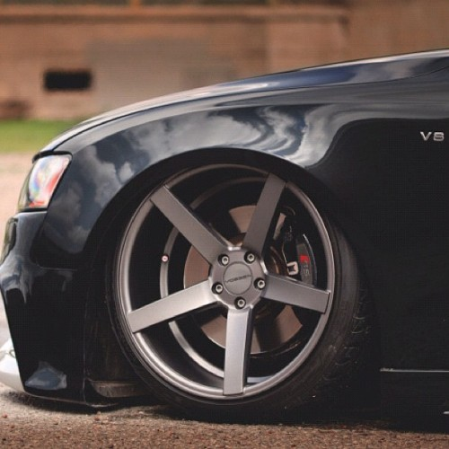 @vossen #audi #S5 #Stance #Wheels #LowLife #Sexy #LayFrame (Taken with instagram)