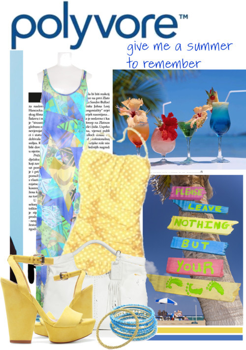 Polvore…Give me A Summer To Remember by queenrachietemplateaddict featuring a lace summer dress