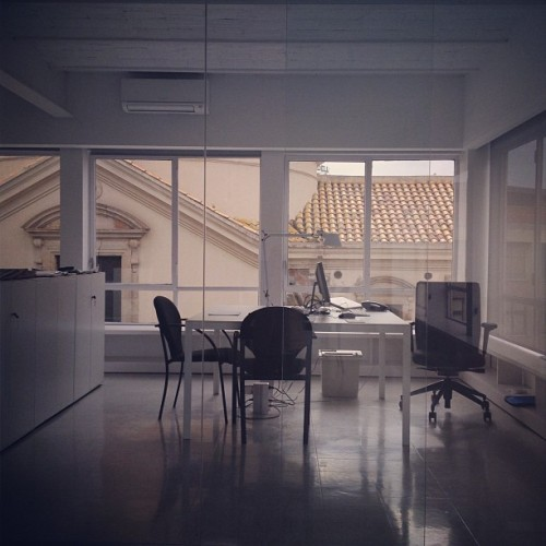 The #Office and the #Vatican in #Barcelona. #interiordesign #work (Taken with instagram)