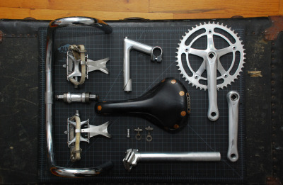 cycleboredom:  Things organized neatly.