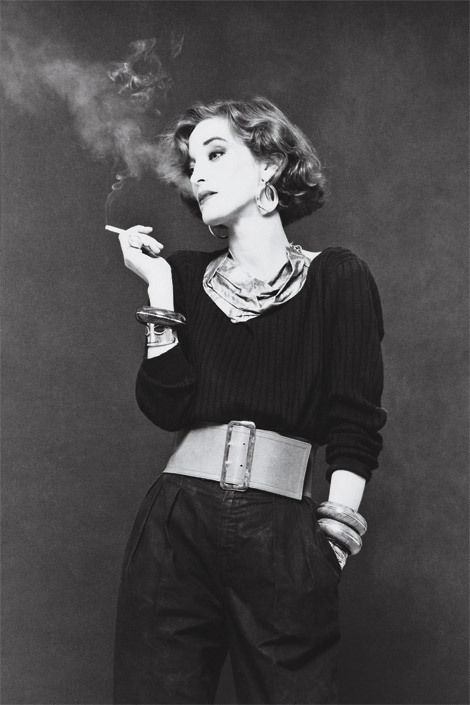 elle:  The iconic Loulou de La Falaise served as inspiration for our cover shoot with Kristen Stewart. See more (plus a behind-the-scenes video) here