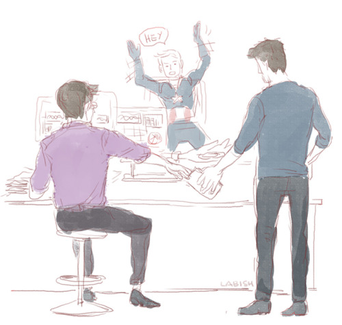 Stop drawing sciencebros fanart dammit, stupid hand