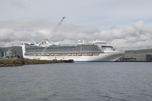 Caribbean Princess Cruise Ship In Belfast May 2012 26 on Flickr.