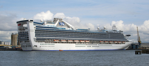 Caribbean Princess Cruise Ship In Belfast May 2012 32 on Flickr.
